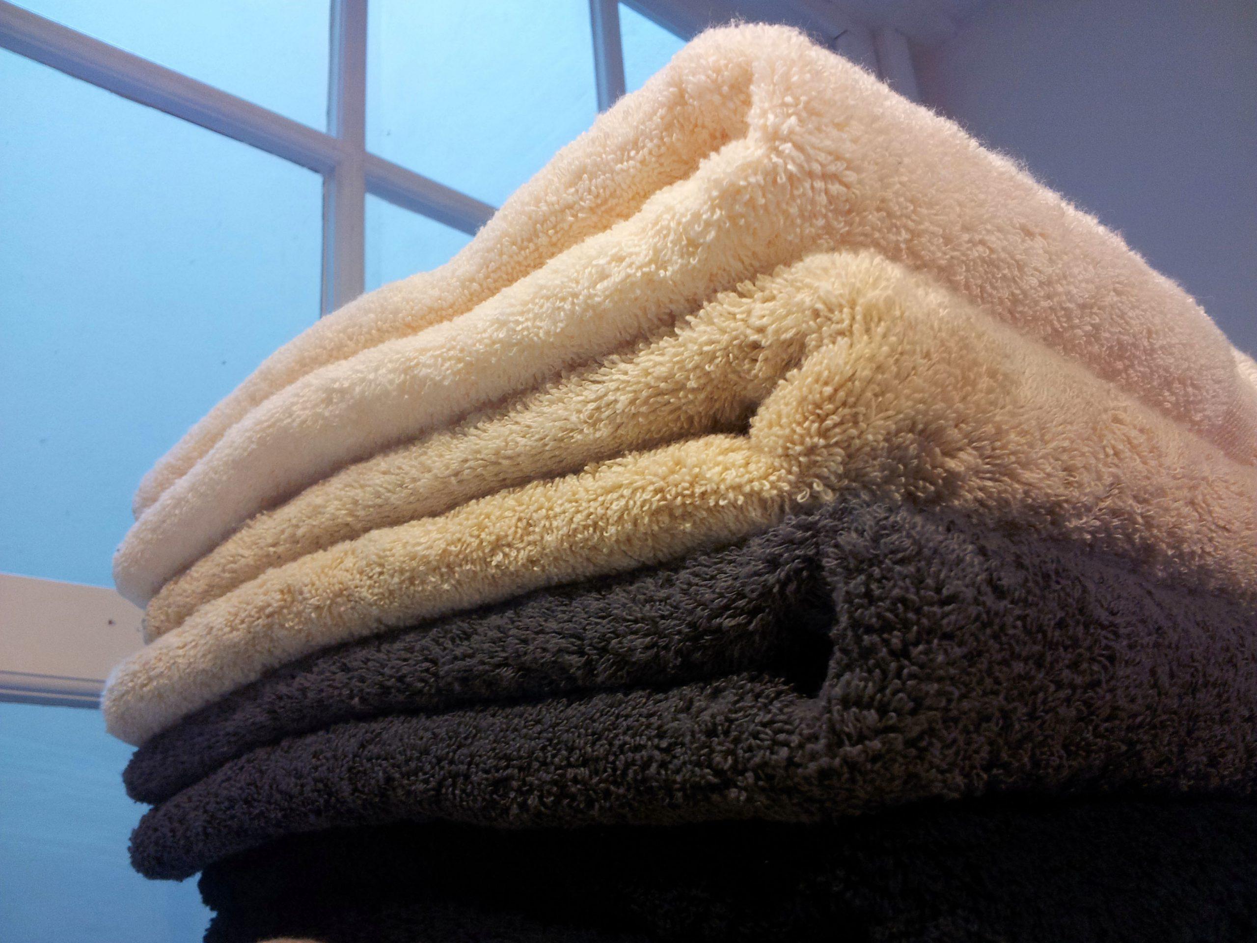 Groot badlaken, extra dikke kwaliteit van Vandyck-0