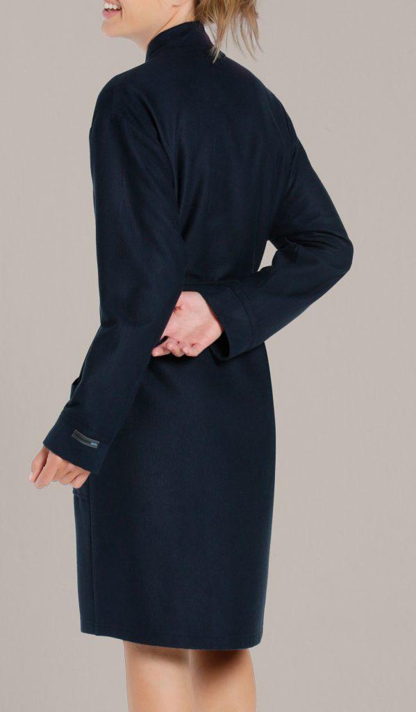 Korte badjas dames en heren donkerblauw van Taubert-1303