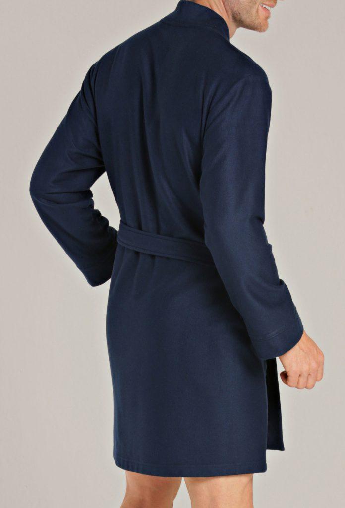 Korte badjas dames en heren donkerblauw van Taubert-1302
