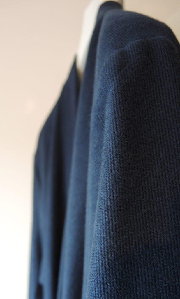 Korte badjas dames en heren donkerblauw van Taubert-1538