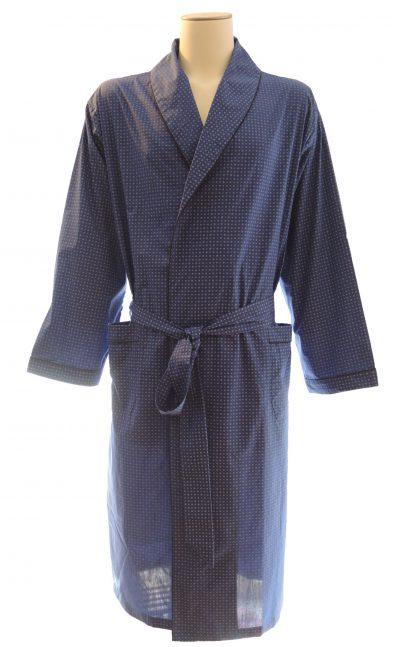 Dunne blauwe kamerjas of kimono van Ambassador-0