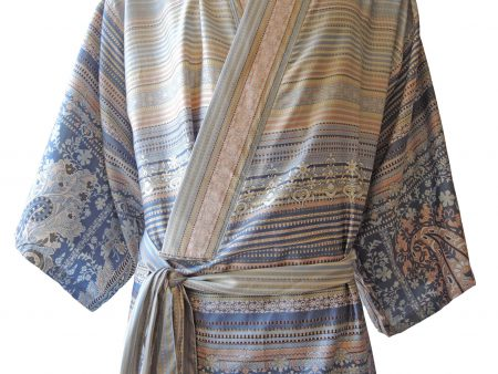 Kimono met diverse patronen in lichte tinten van Bassetti-1927