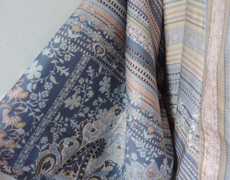 Kimono met diverse patronen in lichte tinten van Bassetti-1928