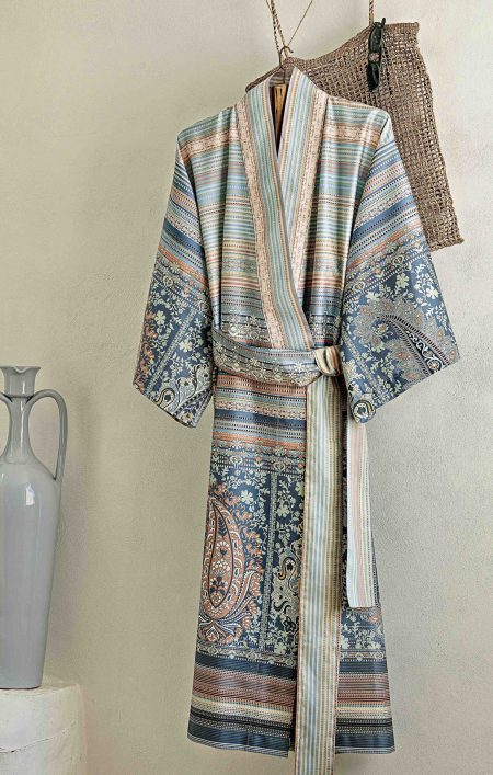 Kimono met diverse patronen in lichte tinten van Bassetti-1944